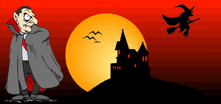 Halloween kinderfeestje