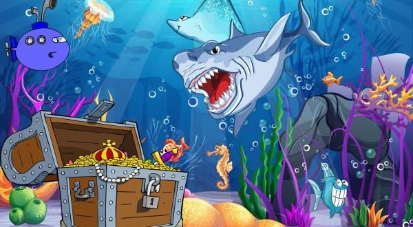 speurtocht onderwaterfeestje