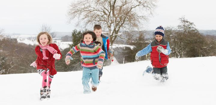 winter kinderfeestje