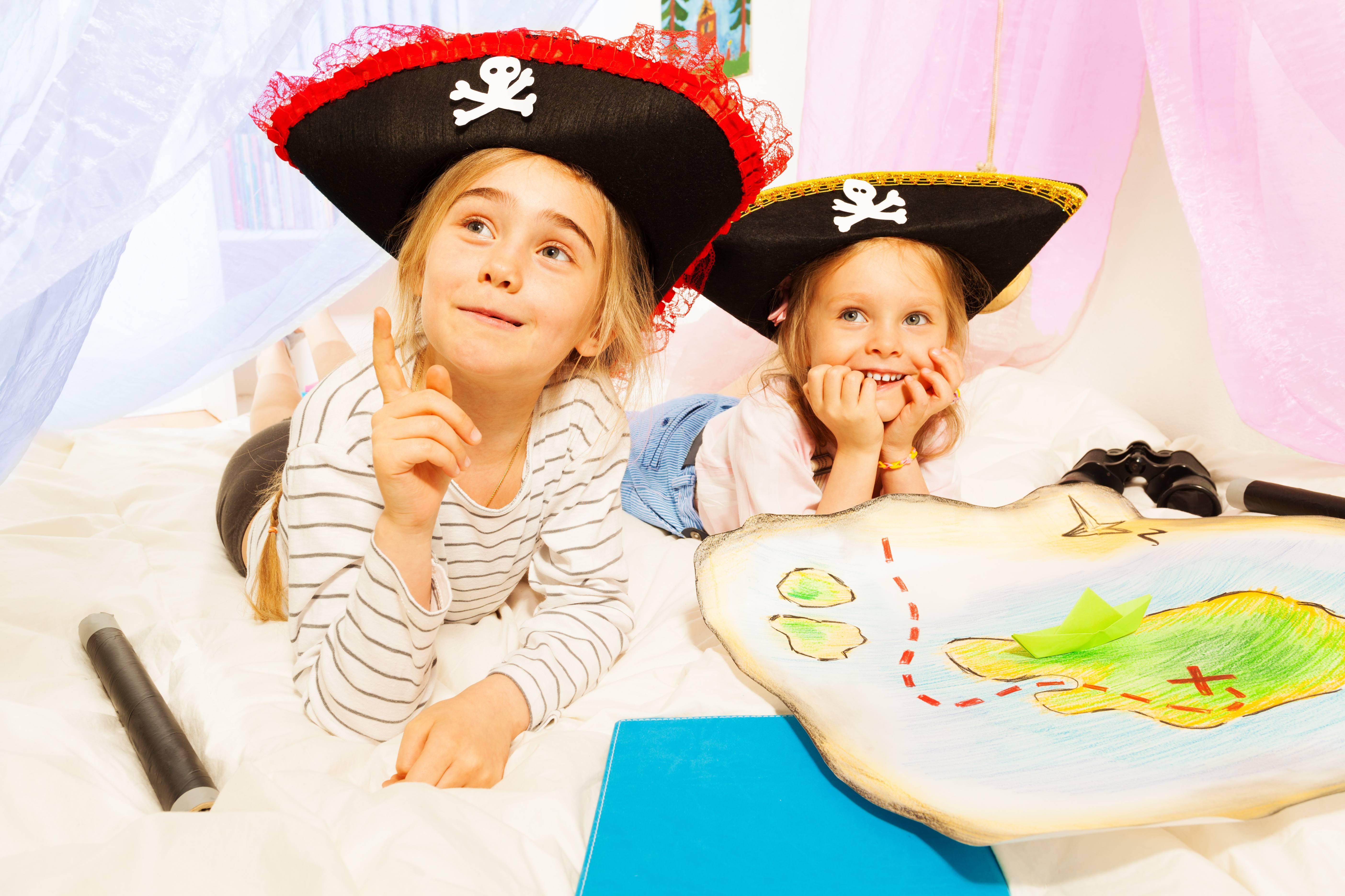 Wonderlijk Piratenfeest! - SPEURTOCHT KINDERFEESTJE YL-17