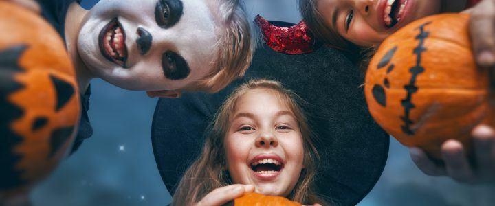 10 leuke spelletjes voor kinderen tijdens Halloween